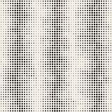 Modern Stylish Halftone Texture. Endless Abstract Background With Circles. Vector Seamless Mosaic Pattern. Modern Stylish Halftone Texture. Endless Abstract Stock Images