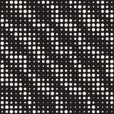 Modern Stylish Halftone Texture. Endless Abstract Background With Circles. Vector Seamless Mosaic Pattern. Modern Stylish Halftone Texture. Endless Abstract vector illustration