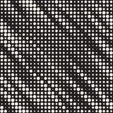 Modern Stylish Halftone Texture. Endless Abstract Background With Circles. Vector Seamless Mosaic Pattern. Modern Stylish Halftone Texture. Endless Abstract stock illustration