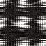Modern Stylish Halftone Texture. Endless Abstract Background With Random Circles. Vector Seamless Mosaic Pattern. Stock Photos