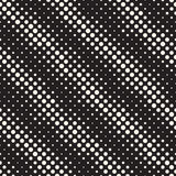 Modern Stylish Halftone Texture. Endless Abstract Background With Random Size Circles. Vector Seamless Pattern. Stock Image