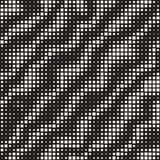 Modern Stylish Halftone Texture. Endless Abstract Background With Random Size Squares. Vector Seamless Chaotic Squares Pattern. Modern Stylish Halftone Texture vector illustration