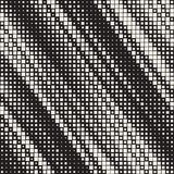Modern Stylish Halftone Texture. Endless Abstract Background With Random Size Squares. Vector Seamless Chaotic Mosaic Pattern. Modern Stylish Halftone Texture stock illustration