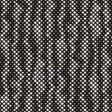 Modern Stylish Halftone Texture. Endless Abstract Background With Random Size Squares. Vector Seamless Squares Mosaic Pattern. Modern Stylish Halftone Texture vector illustration