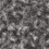 Modern Stylish Halftone Texture. Endless Abstract Background With Random Size Squares. Vector Seamless Chaotic Mosaic Pattern. Modern Stylish Halftone Texture royalty free illustration
