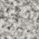 Modern Stylish Halftone Texture. Endless Abstract Background With Random Size Squares. Vector Seamless Squares Mosaic Pattern. Modern Stylish Halftone Texture stock illustration