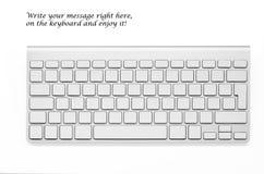 Modern and stylish keyboard Stock Image