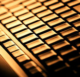 Modern and stylish laptop. Stock Images