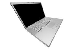 Modern and stylish laptop Royalty Free Stock Photos