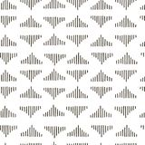 Abstract geometric nook, corner fashion design print pattern. Modern stylish nook, corner texture with monochrome trellis. Repeating geometric grid. Bends Royalty Free Stock Images