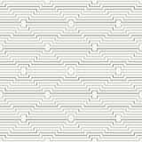 Modern stylish outlined geometric background with repeating horizontal lines Royalty Free Stock Photo