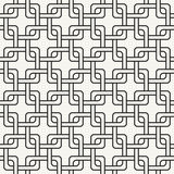 Modern stylish outlined geometric background with structure of repeating squares Stock Photo