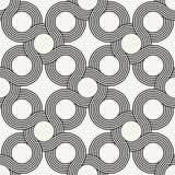 Modern stylish outlined ornamental background Stock Photo