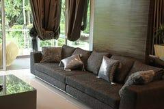 Modern stylish sofa Stock Image