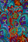 Modern stylish texture. The flower cotton chintz Royalty Free Stock Photography