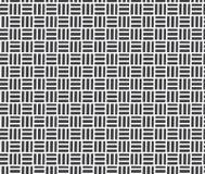 Modern stylish texture. Repeating geometric tiles. stock illustration
