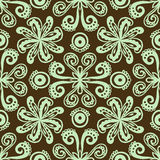 Modern stylization of Indian ornament Royalty Free Stock Images