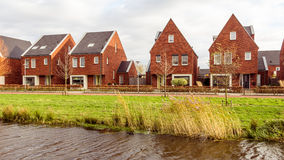 Modern suburb houses Stock Photo