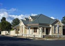 Modern Suburban House. Modern Town House In Australia Stock Images