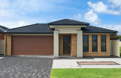 Modern Suburban House royalty free stock photography