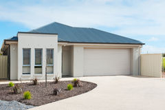 Modern Suburban House Stock Images