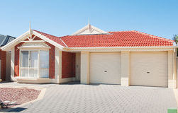 Modern Suburban House Royalty Free Stock Image