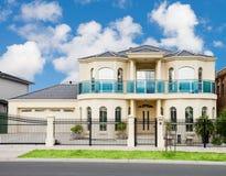 Modern Suburban House Royalty Free Stock Photo