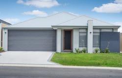 Modern suburban house Stock Photo
