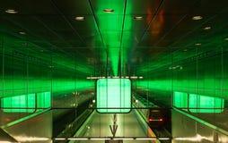 The modern subway of Hamburg, Germany.  Stock Photos