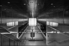 The modern subway of Hamburg, Germany.  Stock Images