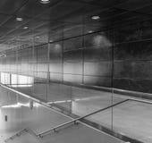 The modern subway of Hamburg, Germany.  Royalty Free Stock Photography