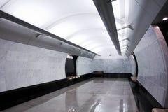Modern subway station Royalty Free Stock Photos