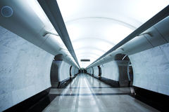 Modern subway station Royalty Free Stock Image