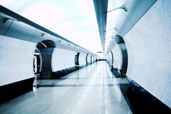 Modern subway station Stock Images