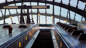Modern subway station Royalty Free Stock Photo