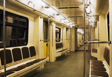 Modern subway train Royalty Free Stock Photography