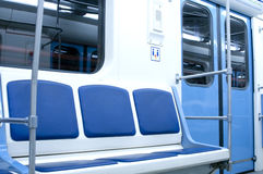 Modern subway vehicle Royalty Free Stock Photography