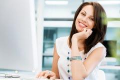 Modern successful business woman Stock Photos