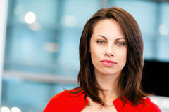 Modern successful business woman Royalty Free Stock Photography
