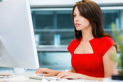 Modern successful business woman Stock Photography