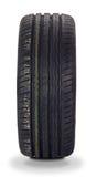 Modern summer sports car tire. Brand new modern summer sports car tire Stock Image