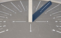 Modern Sundial Royalty Free Stock Photo