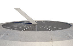Modern Sundial Stock Photo