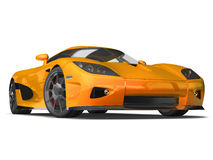Modern Super Car 4 Royalty Free Stock Photos