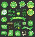 Modern super sale flat banner collection Stock Image