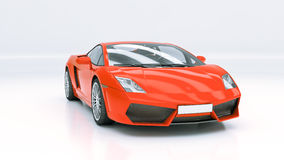 Modern supercar Royalty Free Stock Photos