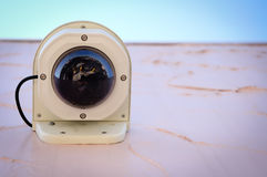 Modern Surveillance camera Stock Photography
