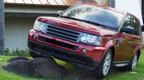 Modern SUV Royalty Free Stock Images