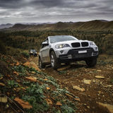 Adventure 4wd offroad Royalty Free Stock Images