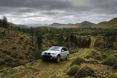 Modern suv offroad Stock Images